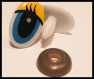 Sicherheitsauge - safety eyes