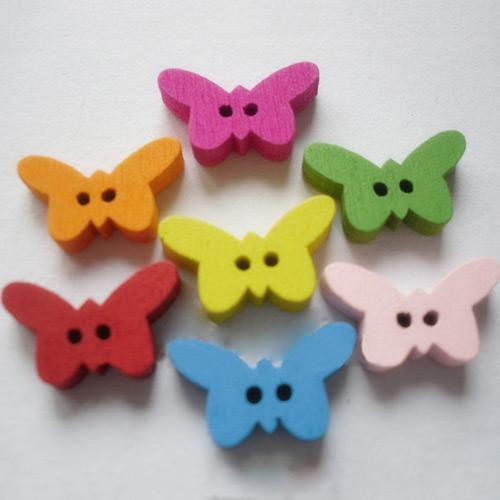 Knopf Schmetterling