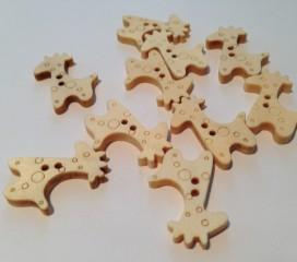 Knopf Giraffe