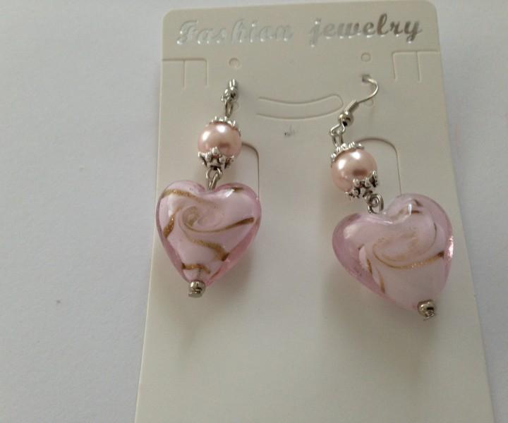 Ohrring rosa
