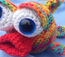 Häkelanleitung Fisch