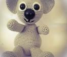 Koala gehäkelt