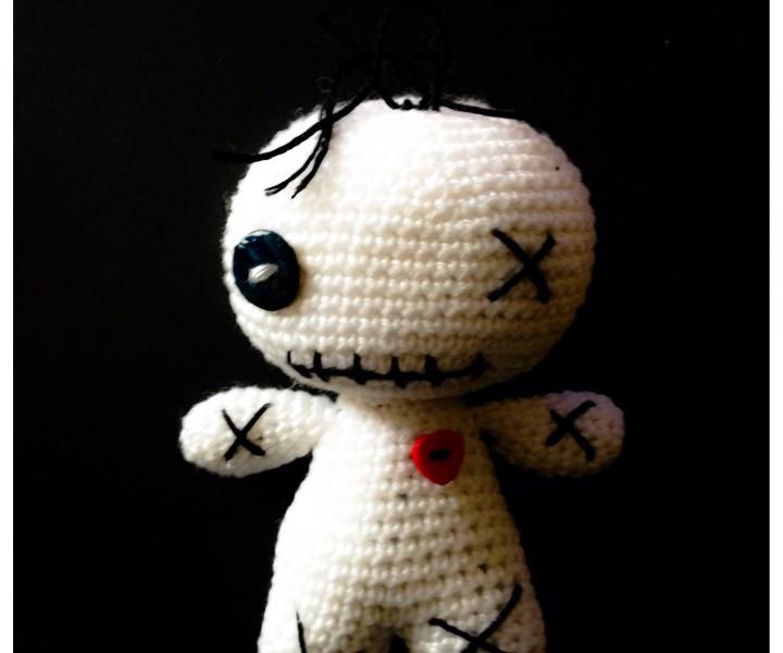 Häkelanleitung Voodoo Puppe