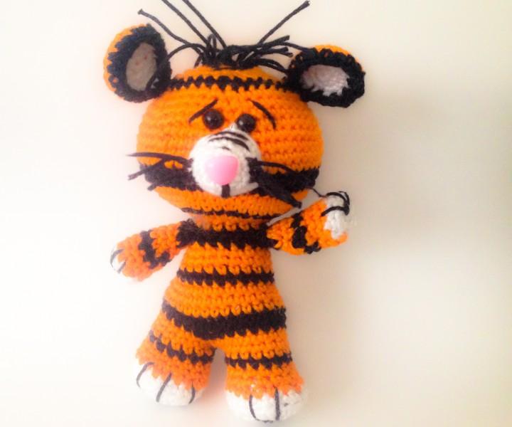 Häkelanleitung Tiger