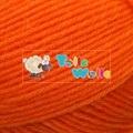 Flotte-Socke-Neonorange-993